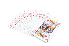 Free Deck Of Diamonds Royalty Free Stock Photos - 5906988