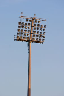 Free Stadium Lights Stock Image - 5907831