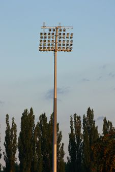 Free Stadium Lights Stock Photography - 5907832
