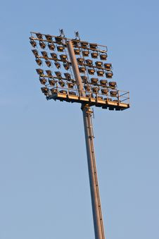 Free Stadium Lights Stock Photos - 5907833
