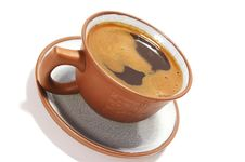 Free Isolated Ceramic Cup Stock Photography - 5908032