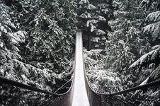 Free Snow Covered Bridge Stock Photos - 5908063