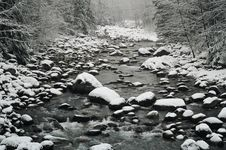 Free Snowy Creek Royalty Free Stock Images - 5908139