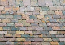 Free Slate Roof Details Royalty Free Stock Photos - 5908238