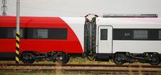 High Speed Train Stock Image