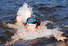 Free The Swimmer Stock Photo - 5908800