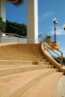 Free Stairway2 Royalty Free Stock Photo - 5909395