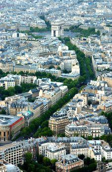 Free Arc Of Triumph,Paris Royalty Free Stock Photos - 5909978