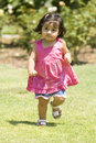 Free Girl Running Royalty Free Stock Photography - 5912227