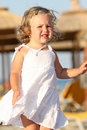 Free Little Girl At Beach Stock Photo - 5914680