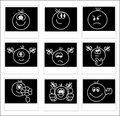 Free Icon Set - Smiles Stock Image - 5919181