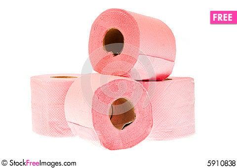 Free Toilet Paper Royalty Free Stock Photos - 5910838
