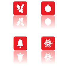 Free Christmas Icons Stock Images - 5910074