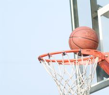 Free Basketball Royalty Free Stock Image - 5910156