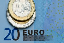 Free European Union Currency Royalty Free Stock Photography - 5910337