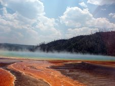 Free Steam From Prismatic Spring 2 Royalty Free Stock Images - 5910639