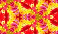Free Dahlia Seamless Tile Background 4 Stock Photography - 5911212