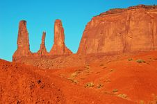 Free Monument Valley Royalty Free Stock Images - 5911419