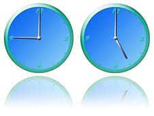 Free Clocks Royalty Free Stock Photo - 5911995