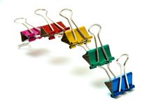 Free Colorful Clips Royalty Free Stock Photos - 5912008