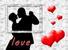 Free Love Kiss Royalty Free Stock Photography - 5912327