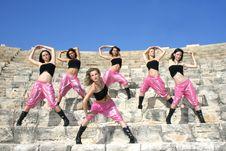 Modern Dancers Royalty Free Stock Photo