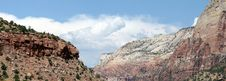 Free Zion National Park Panorama Stock Photo - 5912700