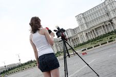 Free Reporter Royalty Free Stock Images - 5912709