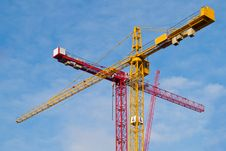 Free Two Cranes Stock Images - 5912724