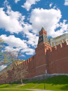 Free Kremlin Wall Stock Images - 5912734