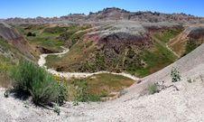 Free Badlands Panorama Stock Photo - 5912760