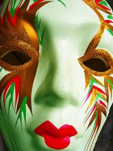 Free Designer Face Mask Stock Image - 5912971