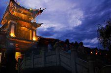 Free Gate Of Wangulou Royalty Free Stock Photo - 5913075
