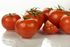 Free Tomatoes Royalty Free Stock Photo - 5913175