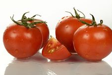 Free Tomatoes Royalty Free Stock Images - 5913339