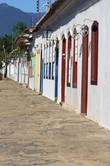 Free Street In Parati Royalty Free Stock Photography - 5913597