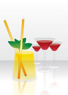 Free Cocktails Royalty Free Stock Photos - 5913798