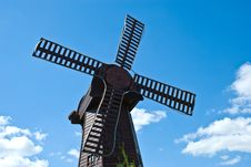 Free Mill On The Sky Background Stock Photo - 5914290
