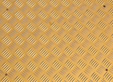 Yellow Metallic Surface Royalty Free Stock Images