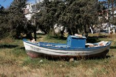 Free Old Boat Royalty Free Stock Images - 5914429
