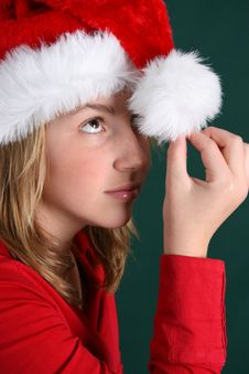 Free Christmas Hat Royalty Free Stock Photo - 5914655