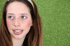 Free Teenager On Green Stock Photos - 5915123