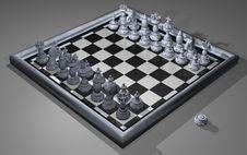 Free Carrara Chess Royalty Free Stock Images - 5915479