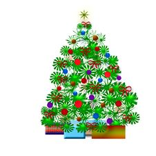 Free Christmas Tree Royalty Free Stock Photos - 5915858