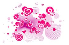 Free Pinky Hearts Royalty Free Stock Photography - 5916137