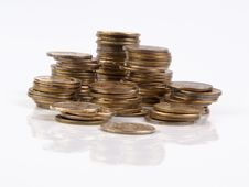 Free Stack Of Coins Royalty Free Stock Photo - 5916165