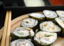 Free Maki Sushi Royalty Free Stock Photos - 5916438
