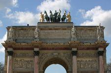 Free Arc De Triomphe Du Carrousel, Royalty Free Stock Photos - 5916948