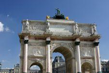 Free Arc De Triomphe Du Carrousel, Royalty Free Stock Photos - 5917148