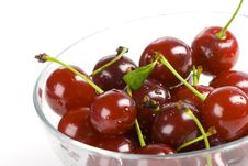 Free Cherry In A Bowl Stock Photo - 5917450